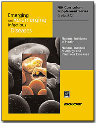 image of front page of curricular materials for Emerging and Re-emerging Infectious Diseases