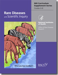 image for curricular materials about Rare Diseases and Scientific Inquiry
