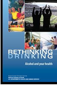 image of front page of booklet on Rethinking Drinking